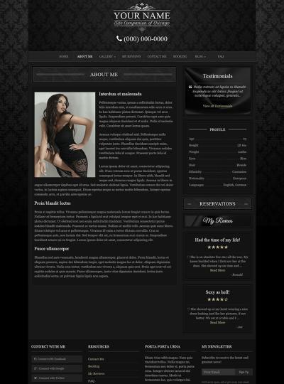 The-Model WordPress Theme